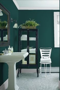 Benjamin Moore Dark Greens Absolute Green Bavarian