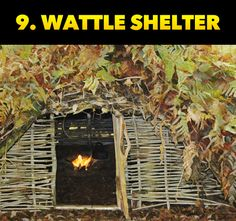 Learn the ten best primitive shelters you can build to keep yourself alive during an emergency! Survival Shelter, Survival Food, Wilderness Survival, Outdoor Survival, Survival Skills, Survival Stuff, 72 Hour Kits, Disaster Preparedness, Outdoor Cooking