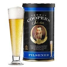 Pilsener - Cerveza Dorara Coopers 1,7 kg - 23L
