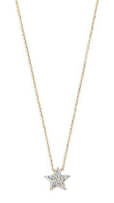 Dana Rebecca Pave Diamond Star Necklace In Gold Star Necklace, Gold Necklace, Amanda Rollins, Dana Rebecca, Fashion Jewelry, Stars, Diamond, Pendant, Detective