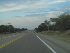 The long road to Texas.