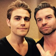 The Vampire Diaries ... Paul Wesley and Daniel Gillies as Stefan and Elijah