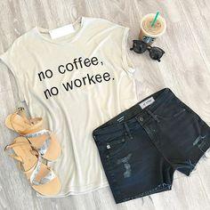 // Friday Feels \\ #readyfortheweekend #nocoffeenoworkee #shoplovebatonrouge