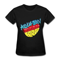 ZIYUAN Womens Aqua Teen Hunger Force Lost Episode T-shirt XL Black @ niftywarehouse.com #NiftyWarehouse #AquaTeenHungerForce #Show #AquaTeen #AdultSwim #Cartoon