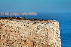 Cliffs at Sagres, Land's End, Algarve, Portugal