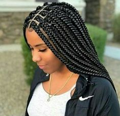 Box Braids Hairstyles 2020 Idea 2020 braided hairstyles that are totally hip and cute Box Braids Hairstyles Here is Box Braids Hairstyles 2020 Idea for you. Box Braids Hairstyles 2020 huge 2020 hairstyle list the 9 hottest trends . Braided Hairstyles For Black Women, African Braids Hairstyles, Girl Hairstyles, Braid Hairstyles, Hairstyles 2018, Protective Hairstyles, Protective Styles, Dreadlock Hairstyles, African Hair Braiding