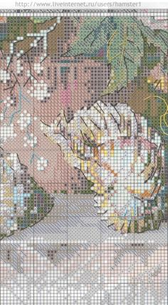 Gallery.ru / Фото #1 - цветы 6 - koreianka Needlepoint Stitches, Needlework, Cross Stitch Flowers, Cross Stitch Patterns, Projects To Try, Old Things, Embroidery, Crossstitch, Diy