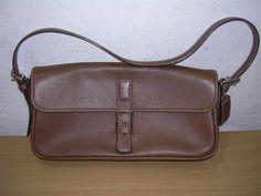 Coach Hamptons Leather Flap Light Brown Shoulder Bag Handbag with Hang Tag 7784 #Coach #ShoulderBag