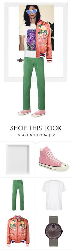 """""""$0/\/\€ &~¥"""" by goosehonker ❤ liked on Polyvore featuring Pottery Barn, Converse, Jacob Cohёn, Givenchy, Gucci, Movado, men's fashion and menswear"""