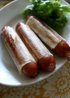 Sausage Spring Roll