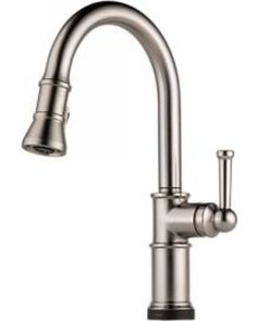 Brizo 64025LF-SS - Artesso: Single Handle Pull-Down Kitchen Faucet With Smarttouch(R) Technology from eFaucets   BHG.com Shop