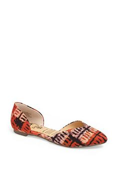 Women/'s D/'Orsay Flat Round Toe Studded Punch Out Sandals Shoe Classified Staple
