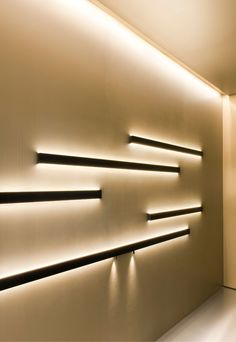 wall washer leds either side of formica