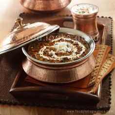 Dal Makhani - North Indian food speciality cooked slowly over hours.