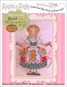 Stitch-a-Little Gretel The Gingerbread Angel