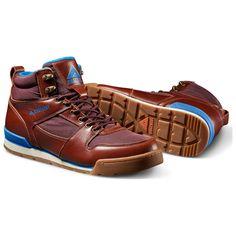 f02245f331 Ridgemont Mens Monty Hi Full Grain Leather Shoes (Mahogany Oxblood)