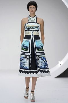 Mary Katrantzou SS13 London Fashion Week