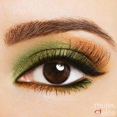 Consigue una mirada penetrante con un maquillaje en verde