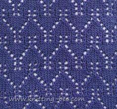 Gables Lace Pattern Stitch