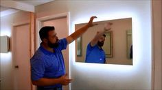LED Exquisite Illuminated Mirror DIY Video