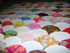 Clam shell quilt how-to