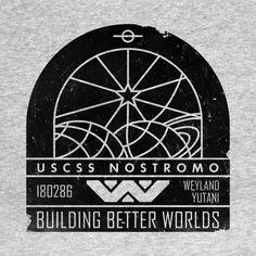 Check out this awesome 'Weyland+Yutani+Grunge+v01' design on @TeePublic!