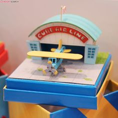 [Miniatuart] Miniatuart Mini : Hanger for airplanes (Assemble kit) (Model Train) Other picture2