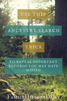 Need help with your Ancestry.com research? This one Ancestry search tip will boost your genealogy research fast! #ancestry #familytree