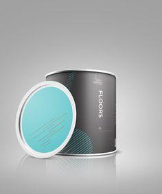 Bomb Paint #Packaging by Sally Tam #branding #identity #design #marketing