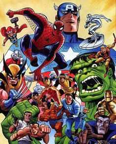 The Marvel Age of Comics : Photo