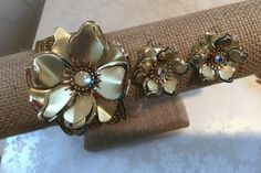 Bracelet and Earring Set by tinselandtonic on Etsy
