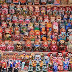#Russia #Moscow #Ismailovomarket #matrioshki #Russiandolls #travel #Vacations…