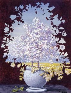 Artist: Rene Magritte Completion Date: 1959 Place of Creation: Brussels, Belgium Style: Surrealism