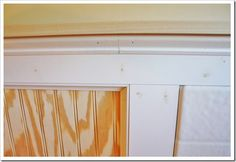 Beadboard bathroom wall, details on trim and ledge pieces needed Board And Batten, Bathroom Wall, Bathroom Ideas, Creative Decor, Sisal, Home And Living, Building A House, Diy Home Decor, Diy Projects