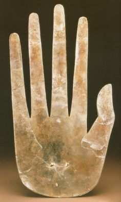 Hopewell culture - hand silhouette 1-400