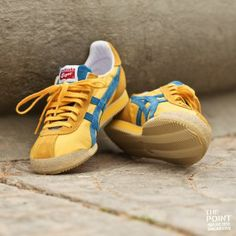 Onitsuka Tiger - Corsair Vin Classic Yellow/Blue |  Onitsuka Tiger - Vin Corsair Classic Yellow / Blue. Model eagerly awaited by fans of the Japanese firm. A very interesting model for history involved that is packaged in many different colors.
