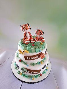Tigers cake - cake by Anneke van Dam