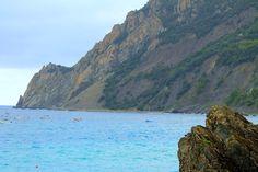 Badestrand Monterosso an der ligurischen Küste von Italien Cinque Terre, Strand, Outdoor, Italy, Bathing, Landscape, Vacation, Outdoors, Outdoor Games