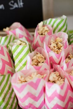 Ladies night, anyone? Ladies Night, Pink Love, Pink And Green, Wedding Favors, Wedding Day, Best Party Food, Rose Fuchsia, Party Treats, Perfect Party