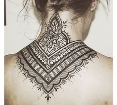 Source Unknown #necktattoos