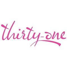 Thirty One Logo   Home Party Logos via Polyvore