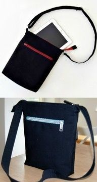Crossbody Bag for Men and Women - Sewing Pattern via Makerist.com  #sewingwithmakerist #sew #sewing #sewkindofwonderful #sewingpattern #sewinginspiration #diy #handmade #homemade #sewingprojects #sewingtutorial  #bag #crossshoulder #handbag #women #men