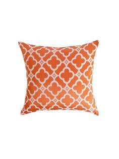 Coussin Narcisse Orange - Saint Maclou