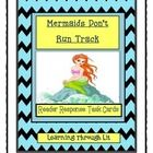 MERMAIDS DON'T RUN TRACK * Bailey School Kids * Reader Response Task Cards   Higher-order, quality questions from each chapter, including content and academic vocabulary.  * Perfect for partner/group discussions, literatur...