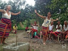 During this time, they taught us the traditional Kalinga dance.