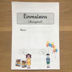 M A T H E Mein Einmaleins-Übungsheft als Ergänzung zum Lehrwerk...endlich ist's fertig #grundschule #mathe #einmaleins…