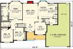 Affordable Ranch Home Plan - 89848AH | Architectural Designs - House Plans