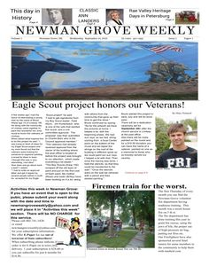 Very nice and informative community newspaper. We love it!