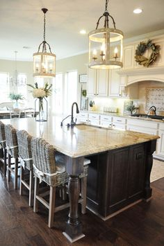 Beautiful Homes of Instagram - one of my favorite kitchens!