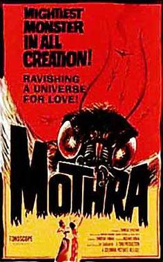 Mothra movie poster